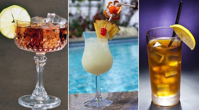 Fehér rum alapú koktélok – 2. rész
