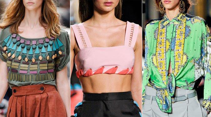 Felsőrész divat 2012 nyár