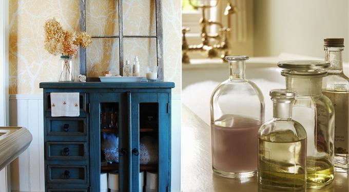 Filléres dekorációs ötletek, ha unod a fürdőszobádat