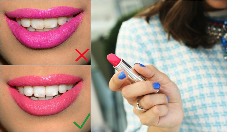 Fogfehérítés otthon: rúzs árnyalatok, amelyektől sokkal fehérebbnek tűnnek a fogaid