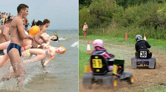 Furcsa extrém sportok a nagyvilágból