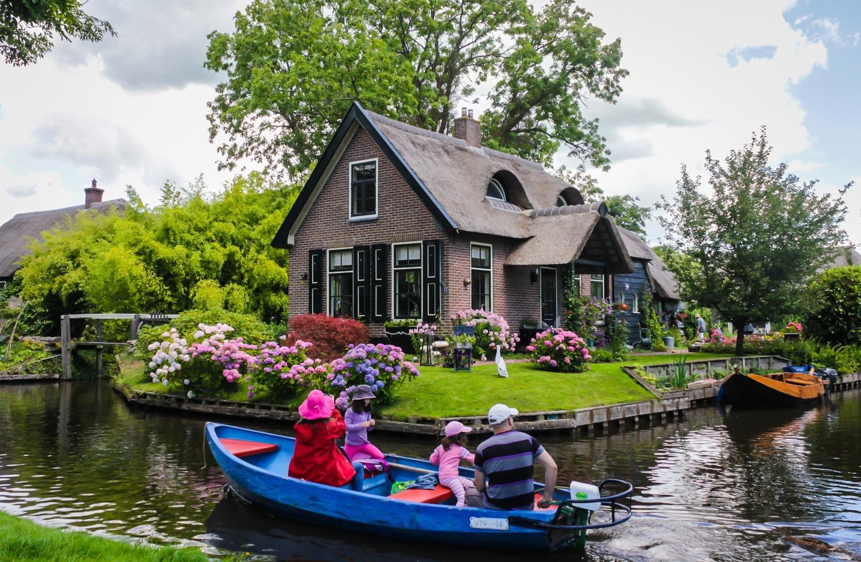 Giethoorn: egy kis Velence Hollandiában