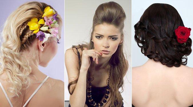 Gyönyörű alkalmi frizurák 2012 nyárra