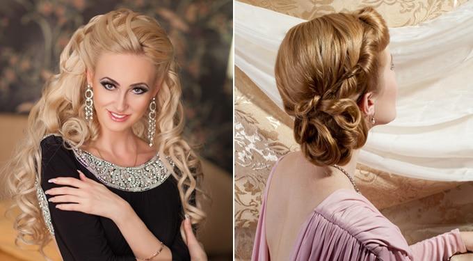 Gyönyörű alkalmi frizurák 2013-ra