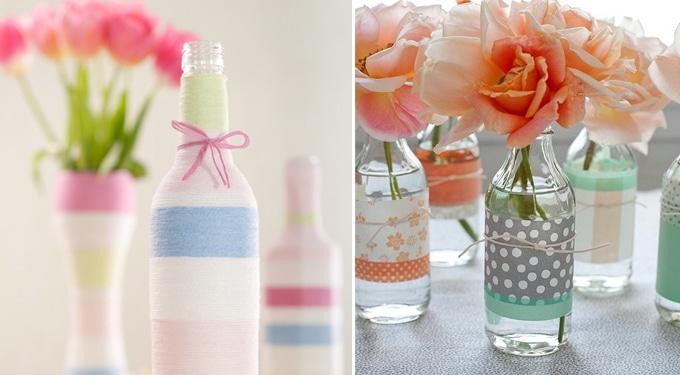 Gyönyörű dekorációk üveggel, amit te is elkészíthetsz