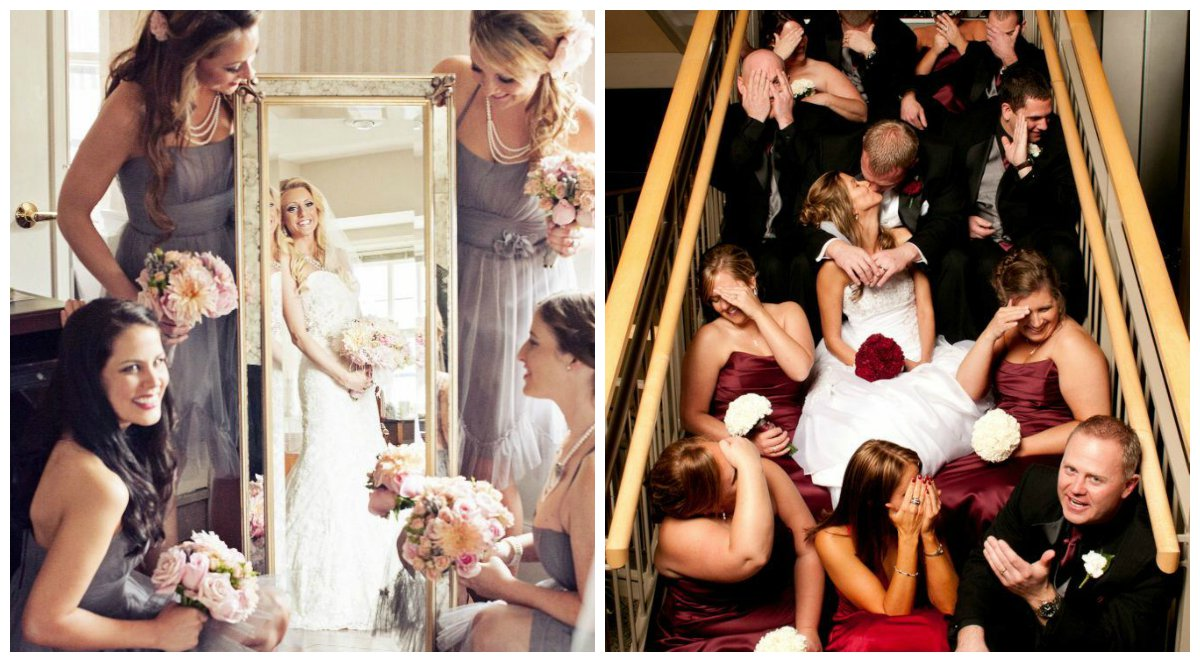 Gyönyörű esküvői fotók, amiket te is lemásolhatsz