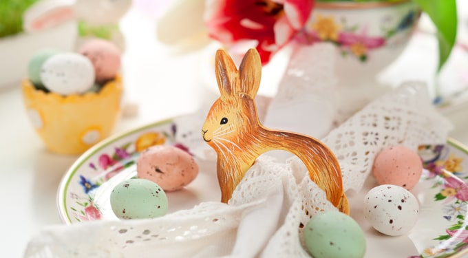 Gyönyörű húsvéti asztaldíszek – a tojás, mint főmotívum