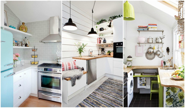 Csodálatos pici konyha inspirációk, 10 négyzetméter alatt