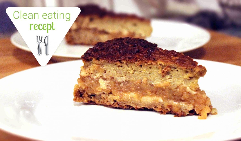 Gyerekkorunk kedvence, egy kicsit másként – Clean almás pite torta