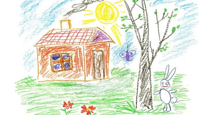 Gyerekrajzok: A fa ábrázolás jelentése