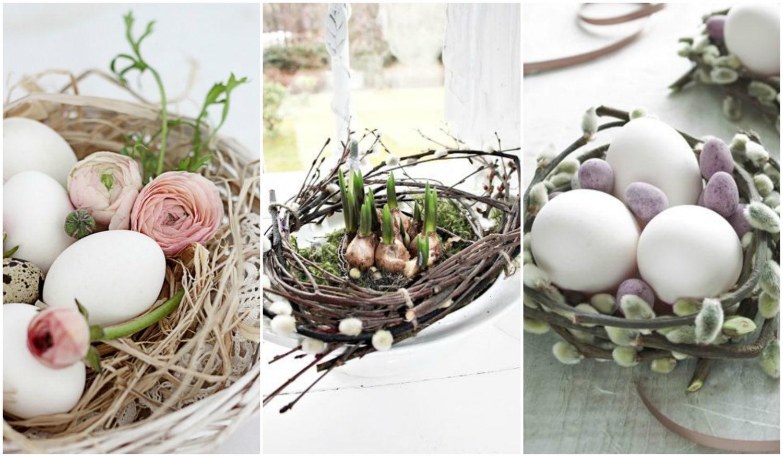 Húsvéti DIY – Csodaszép, egyszerűen elkészíthető fészkek