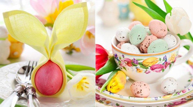 Húsvéti asztaldekoráció tippek
