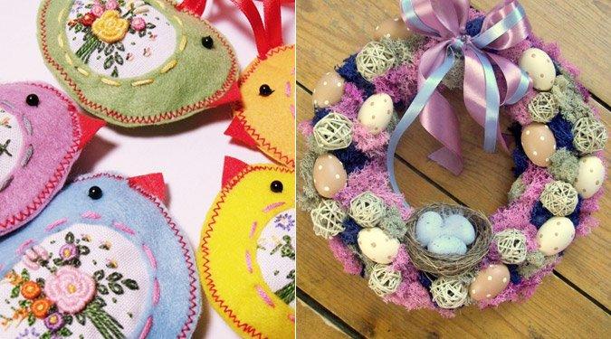 Húsvéti kézműves dekorációk