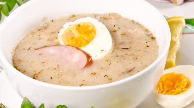 Húsvéti kolbászos leves
