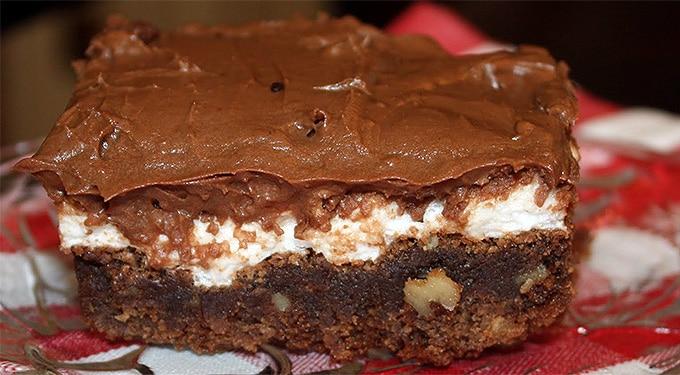 Habos, csokis, ropogós: Mississippi iszapja torta