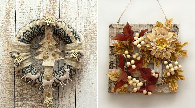 Hangulatos őszi-téli dekorációk