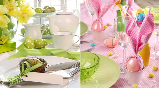 Hangulatos húsvéti asztaldíszek, a család örömére