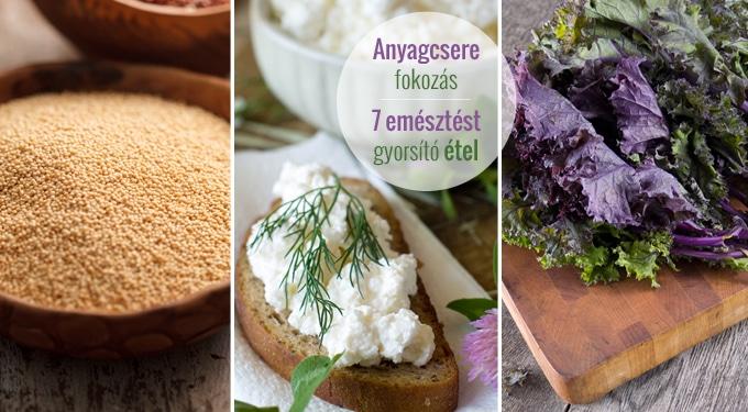 Hatékonyabb fogyókúra, jobb emésztés? 7 étel, ami felpörgeti az anyagcseréd