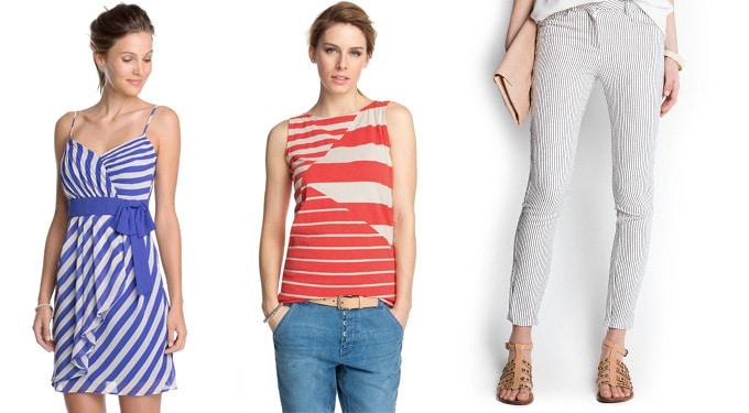 Hogyan viseljük a csíkos ruhadarabokat?