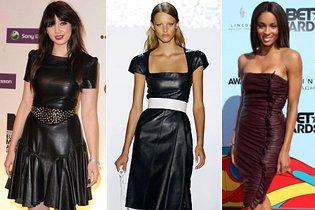 Időtlen divat: Bőr ruhák
