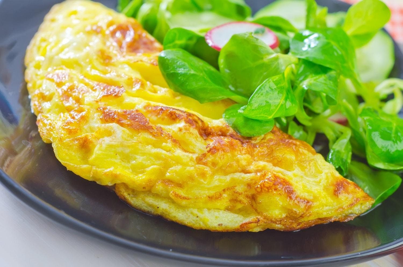 Ilyen guszta omlettet még nem láttál!