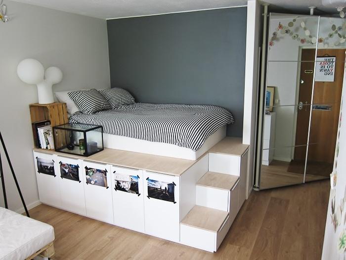 Ilyet még nem láttál! Konyhabútorból készített ágyat az apuka