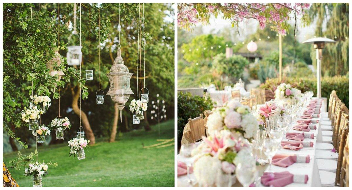 Inspirációk szabadtéri esküvőhöz