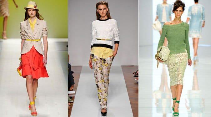 Inspiráló tavaszi/nyári öltözetek a milánói divatkifutókról