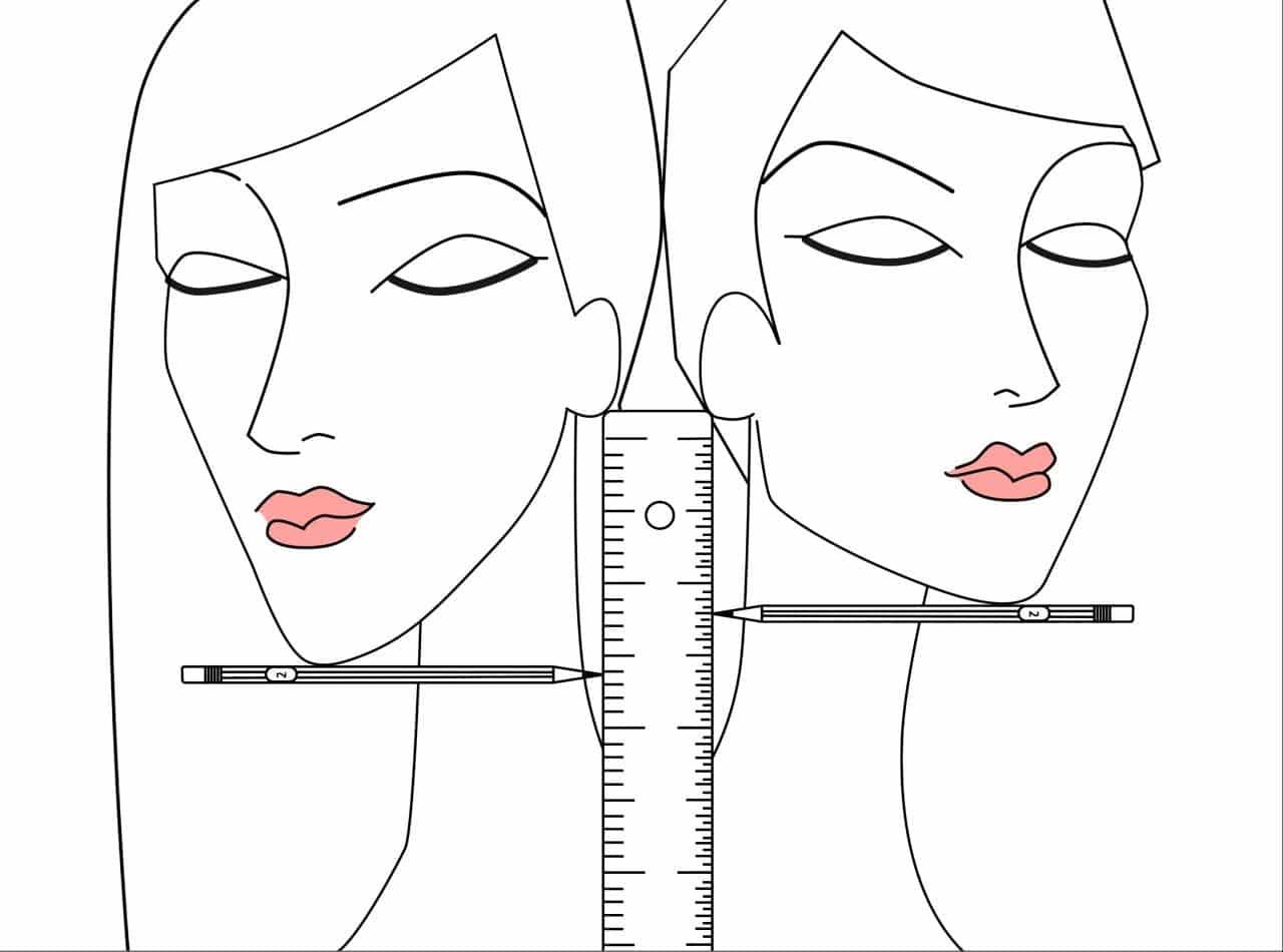 Jól állna a rövid haj? Egy ceruza és egy vonalzó segítségével kiderítheted!