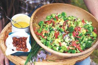 Jamie Oliver: Brokkoli saláta