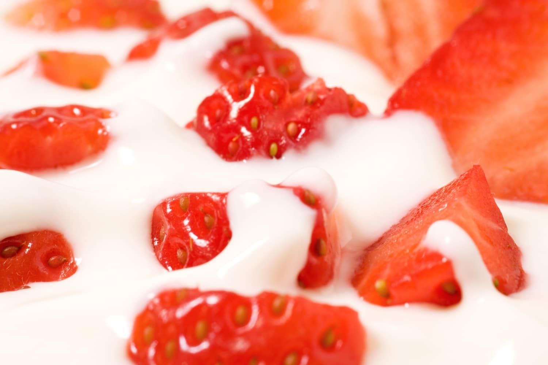 Joghurtos eperfalatok