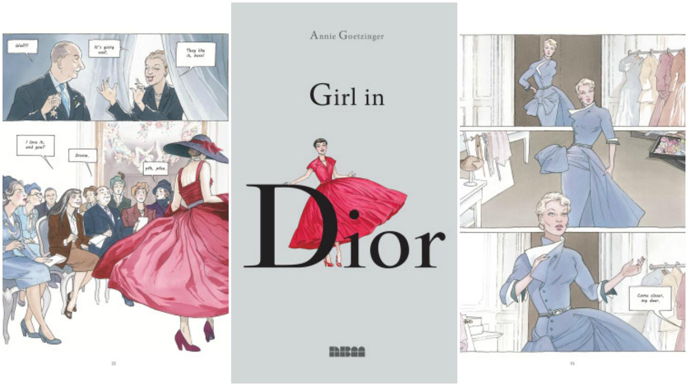 Képregényben elevenedik meg a Dior sztorija