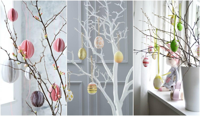 Készíts húsvéti tojásfát! 5 tipp, hogy gyönyörű legyen
