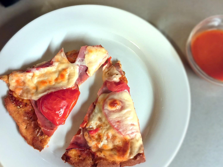Készíts reform pizzát túróból és zablisztből!