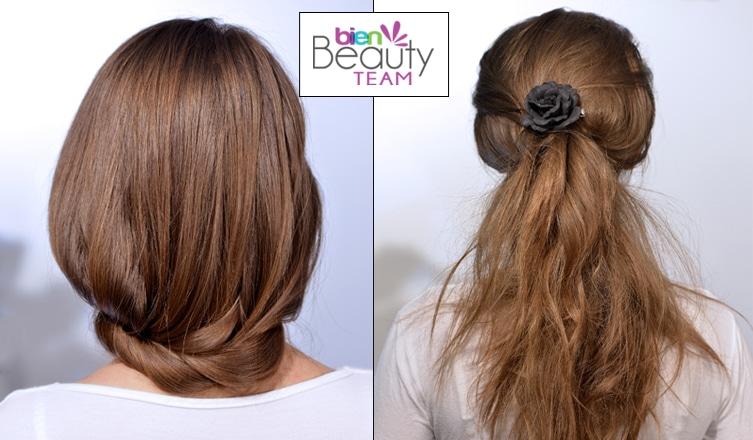 Két frizura lépésről lépésre, amitől dúsabbnak tűnik a hajad