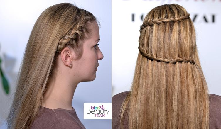 Két szuper látványos hajfonat lépésről-lépésre