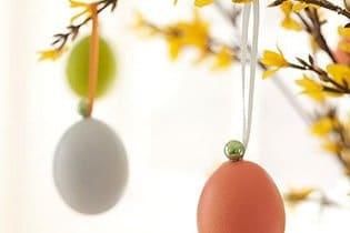 Kézműves díszek húsvéti tojásból