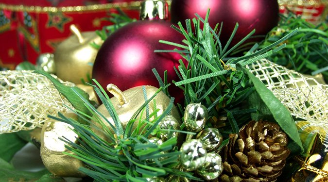 Kézzel készített karácsonyi díszek
