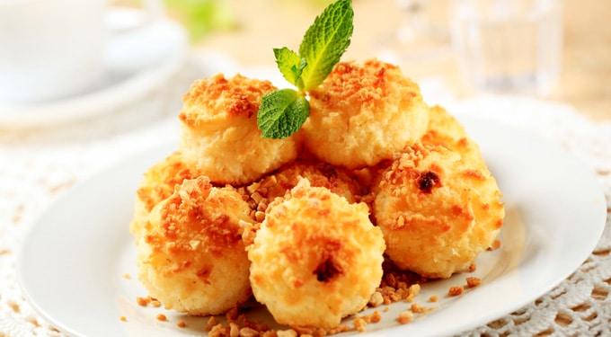 Kókuszhalmok – Habos kókuszos sütemény az ünnepekre