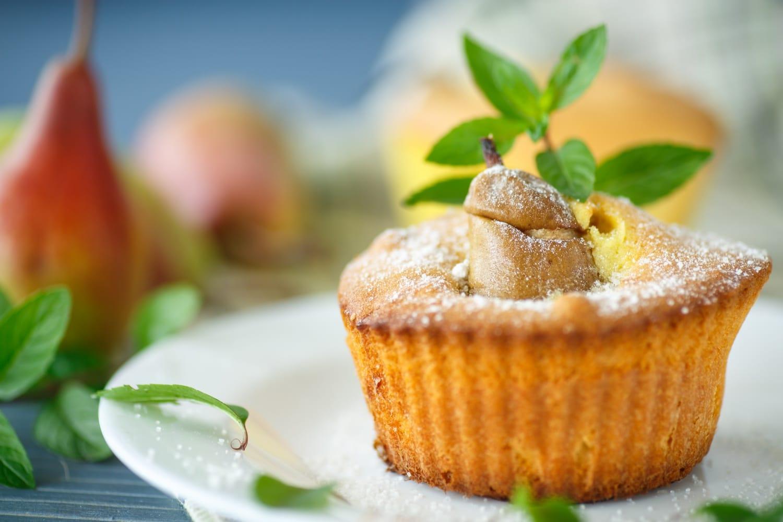 Körtehabos-citromos muffin