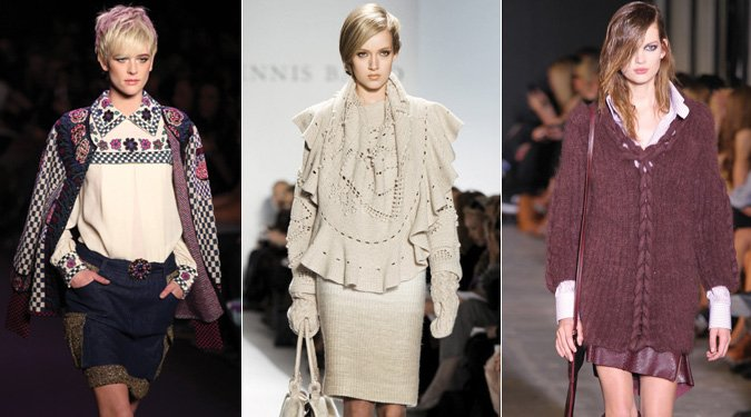 Kötött divat 2011 ősz/tél