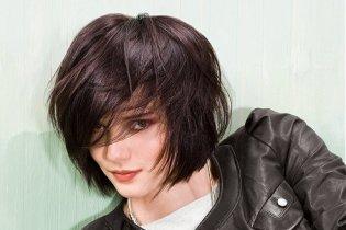 Középhosszú frizurák