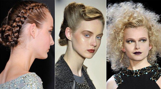 Különleges frizurák a divatkifutókon