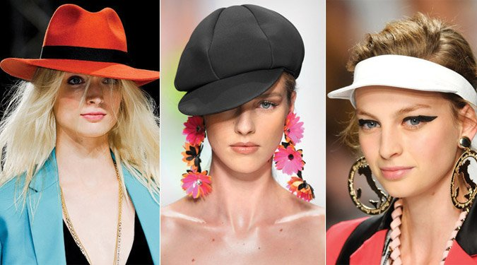 Kalap és fejdísz divat 2012 tavasz/nyár