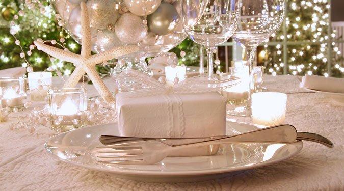 Karácsonyi asztal dekoráció ötletek