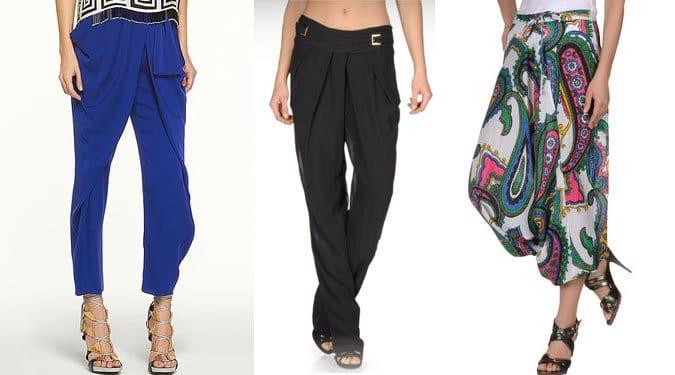 Keleties divat hódít a nyáron. Hárem nadrágok