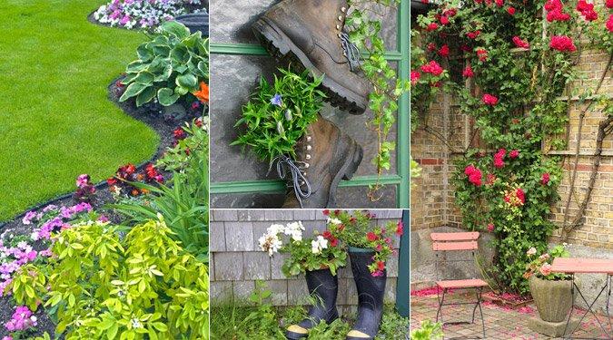 Kertépítési és kert dekorálási ötletek