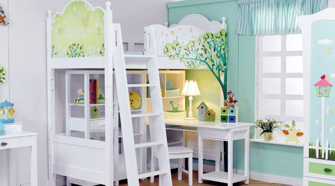 Kislány szobák – 11 stílusos ötlet