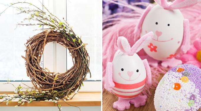 Kreatív húsvéti dekorációk, amiket könnyen elkészíthetsz