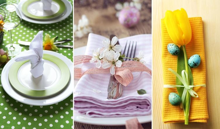 Kreatív húsvéti terítékek asztalkendővel